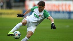 Florian Niederlechner vom FC Augsburg | Bild:picture-alliance/dpa