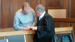 Messerstecher-Prozess am Landgericht Nürnberg | Bild:pa/dpa