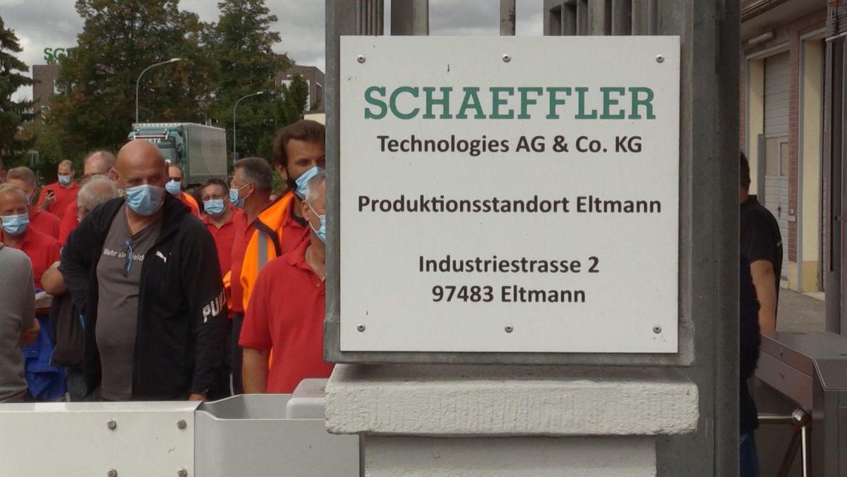Das Schaeffler-Werk in Eltmann
