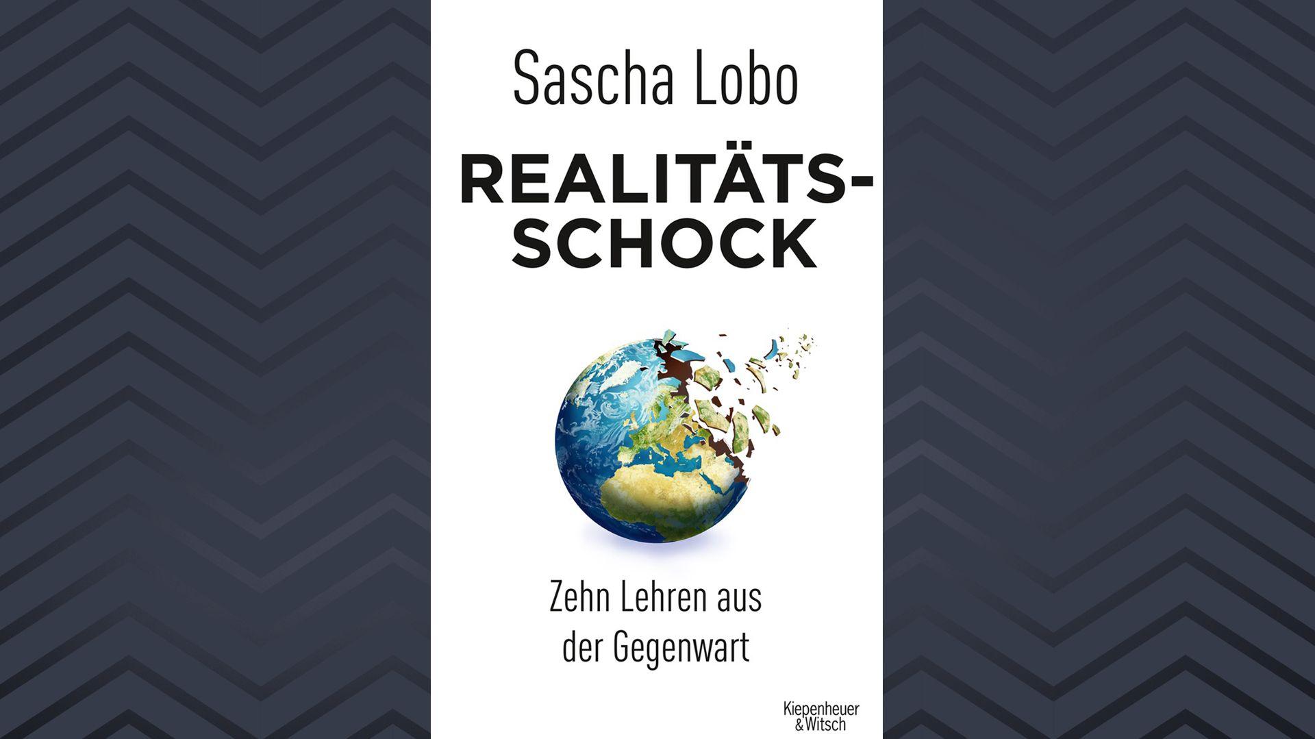 """Buchcover von Sascha Lobos """"Realitätsschock"""""""
