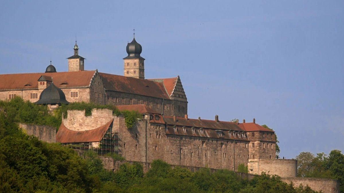 Die Plassenburg in Kulmbach.
