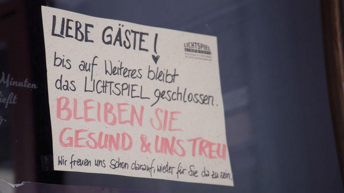 """Das Programmkino """"Lichtspiel"""" in Bamberg ist wie andere Kinos geschlossen."""