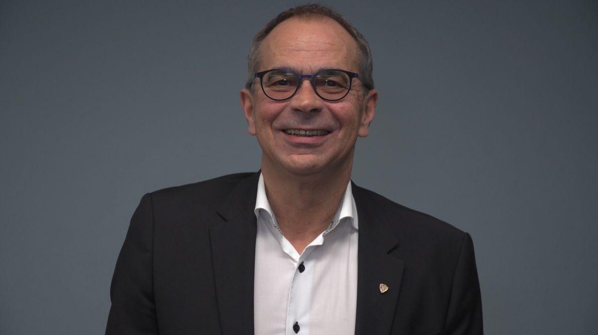 Volker Omert, Oberbürgermeisterkandidat für die FWG im Video