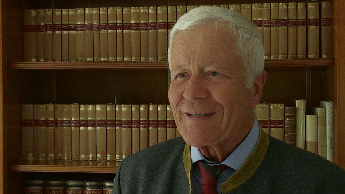 Der Staatsrechtler Wilfried Berg, emeritierter Professor für öffentliches Recht an der Universität Bayreuth