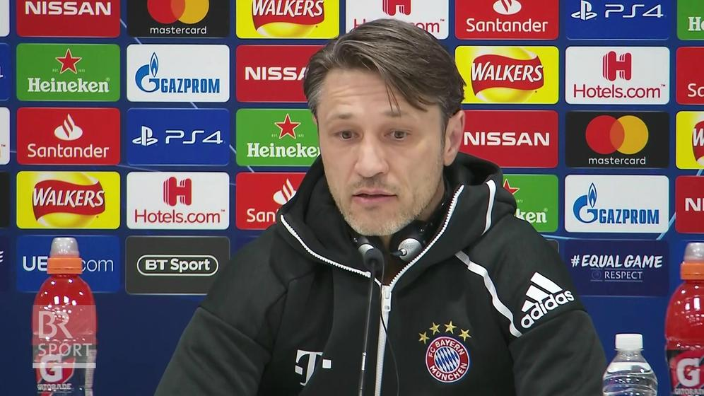 Bayern-trainer Niko Kovac | Bild:BR