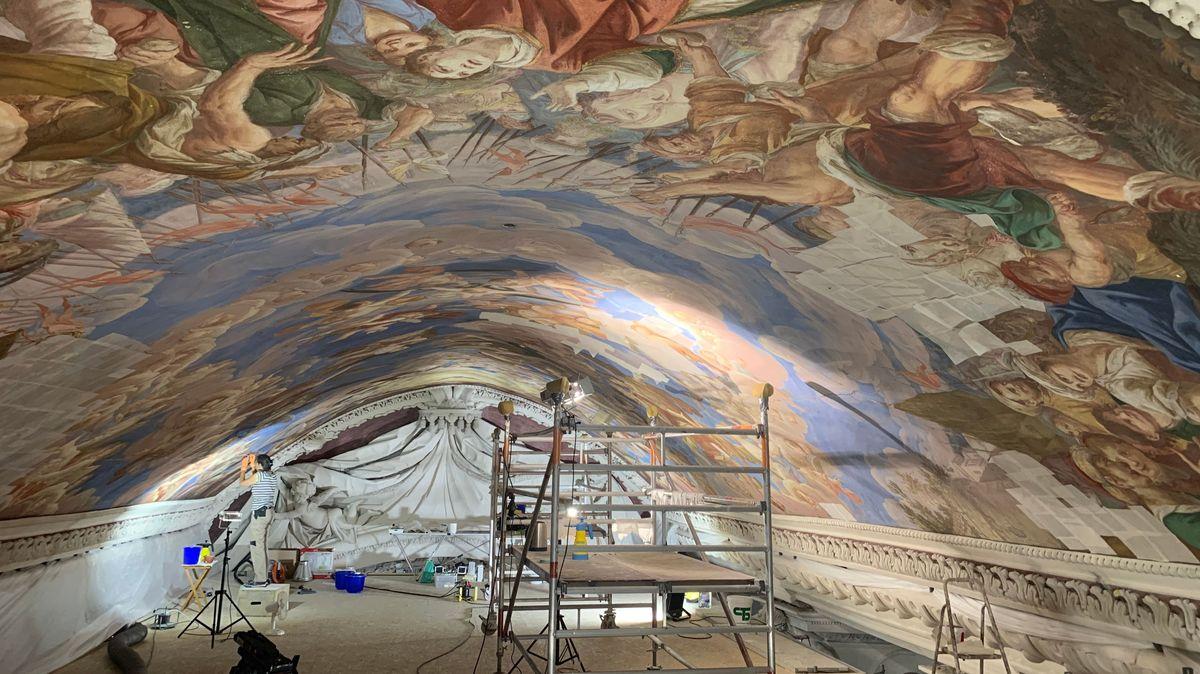 Die Restaurierungsarbeiten im Passauer Dom