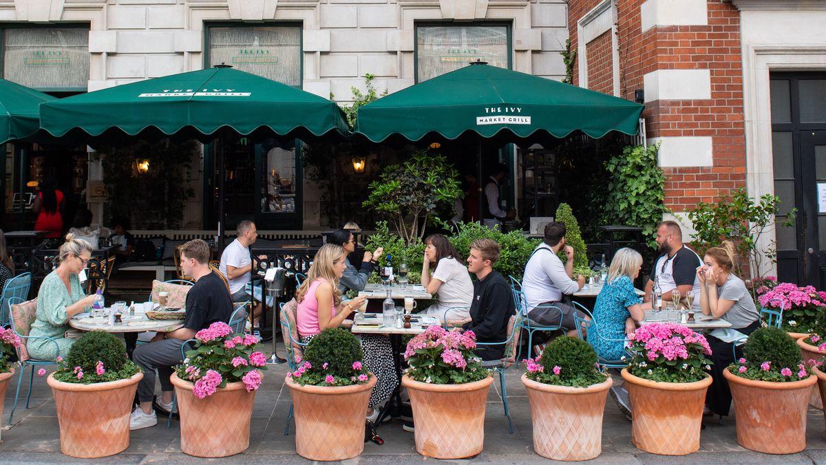 Ivy Market Grill, in London. Hier gibt es Essen mit 50 Prozent Rabatt.