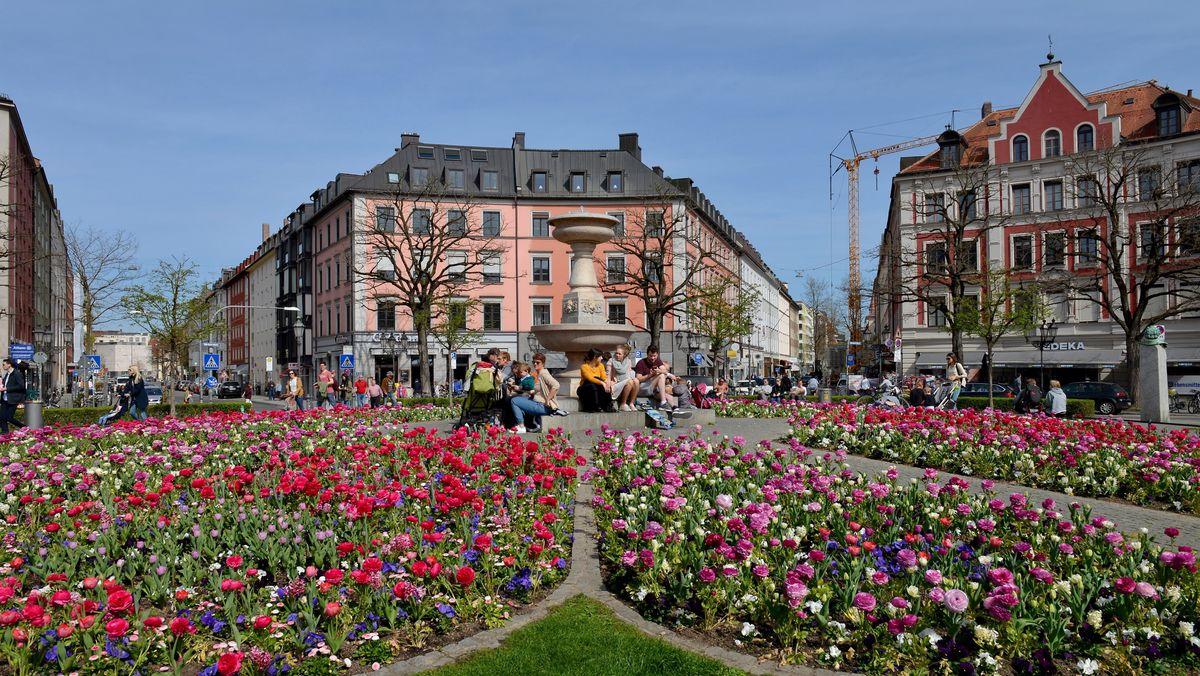 Gärtnerplatz in München.