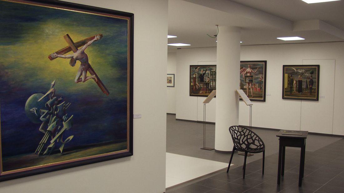 Blick ins Lettl-Museum