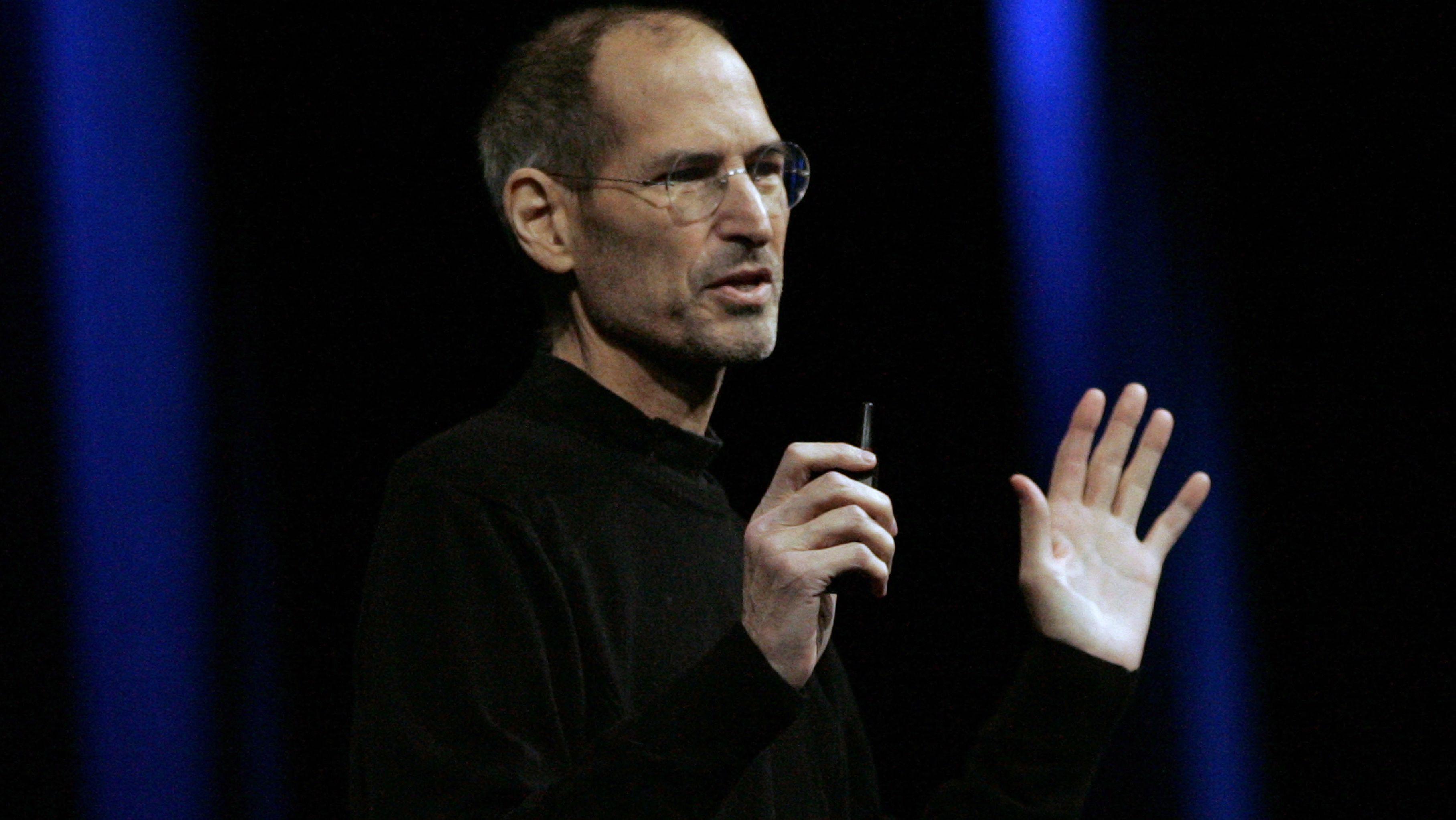 Steve Jobs: Der verstorbene Apple-Gründer sprach im TED Talk u.a. über den Sinn der Existenz des Todes für das Leben.