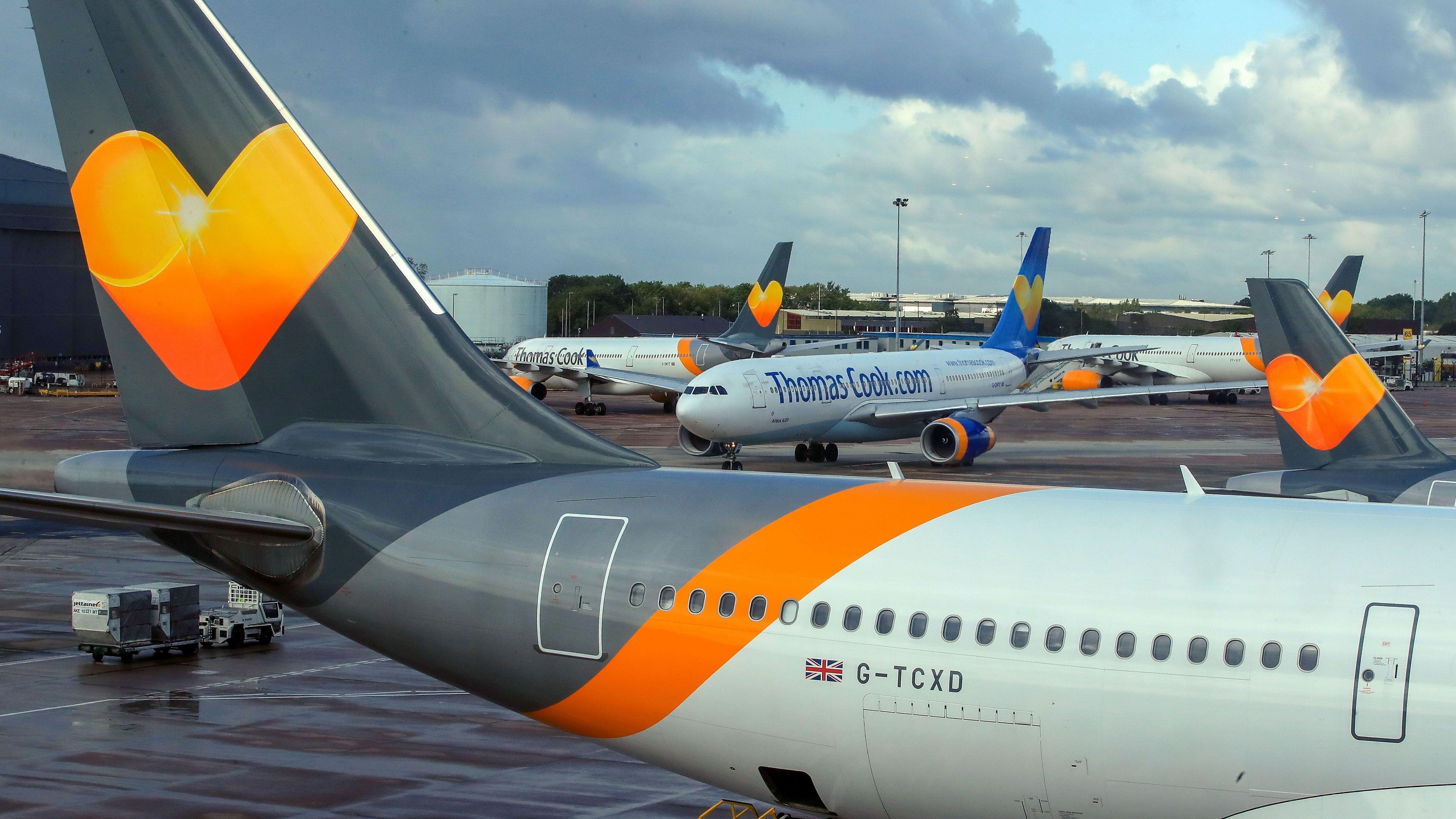 Flugzeuge von Thomas Cook