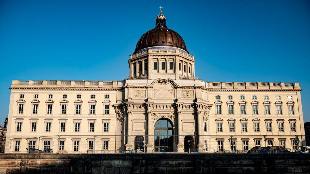 Ansicht vom Schlossplatz