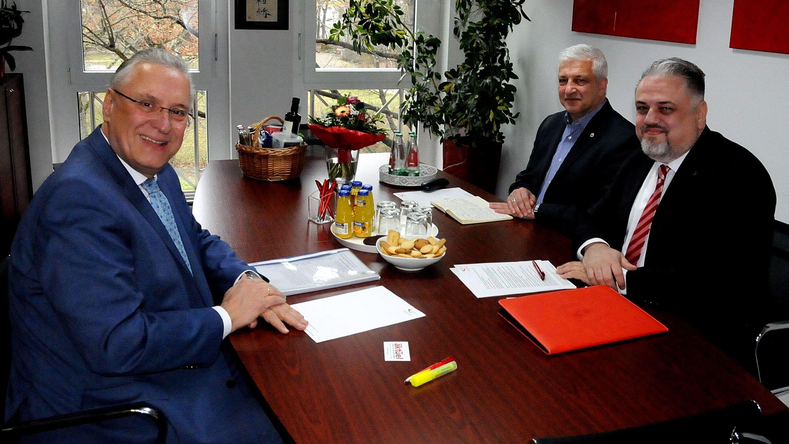 Besuch bei der Türkischen Gemeinde in der Metropolregion Nürnberg e.V.