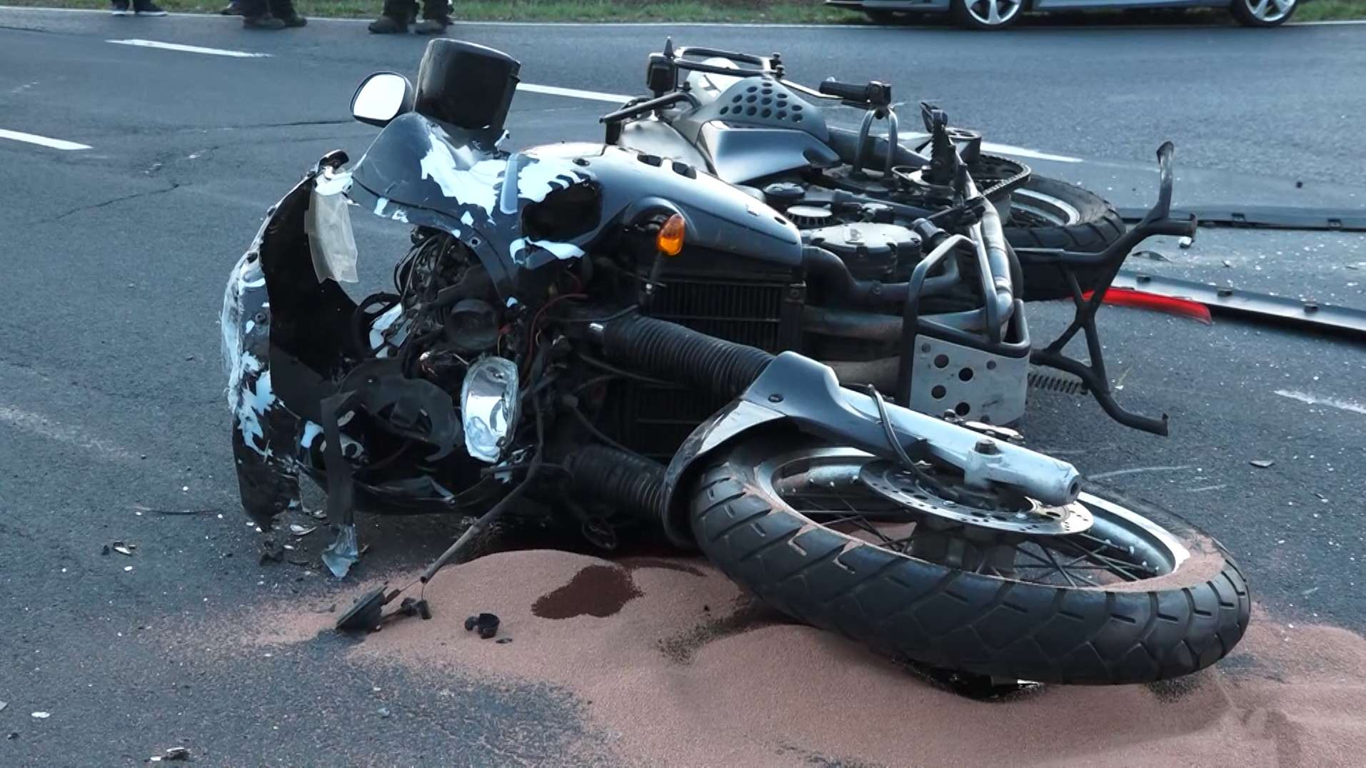 Tödlicher Motorradunfall bei Bischofsheim