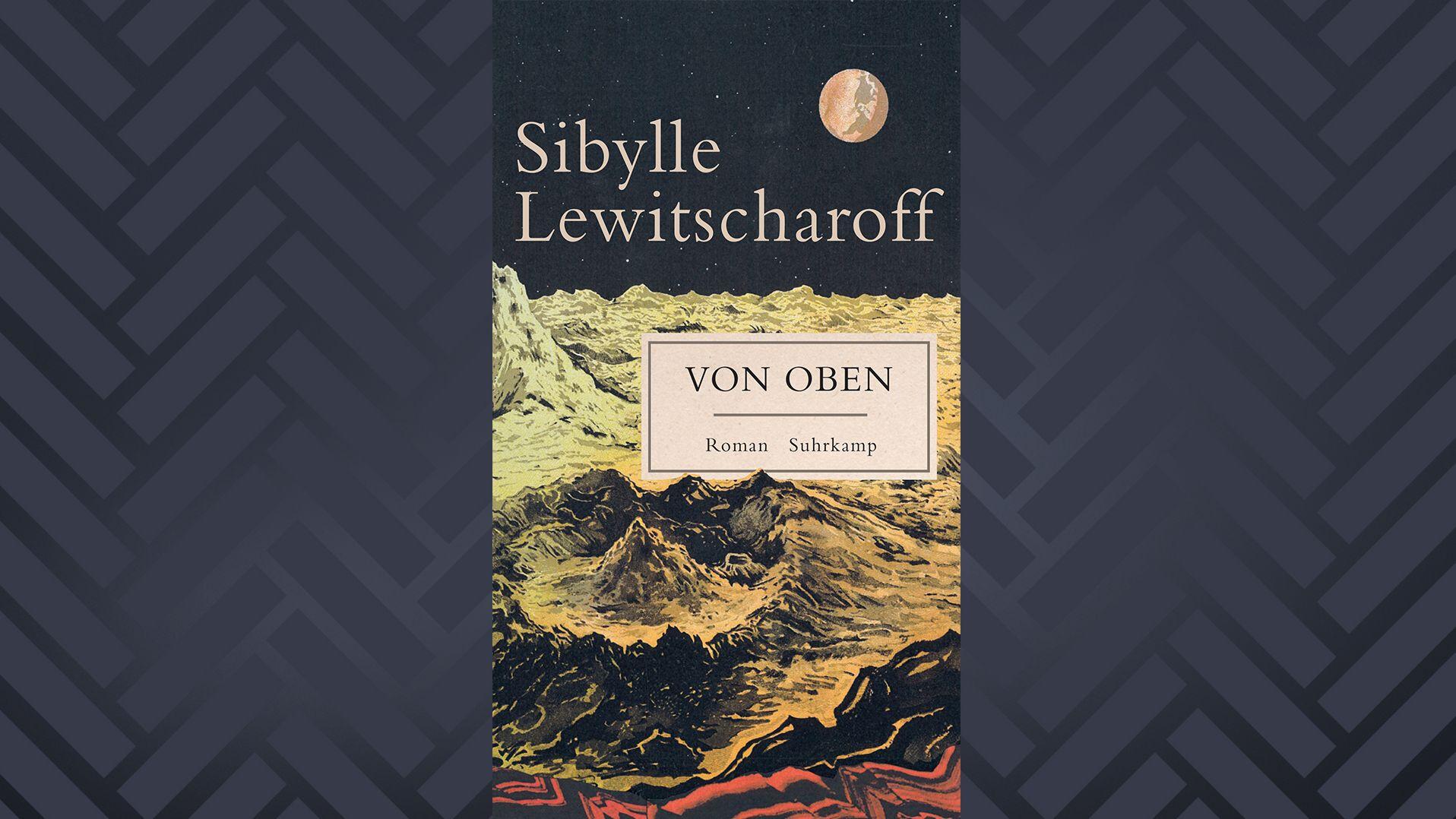 """Buchcover Sibylle Lewitscharoff, """"Von oben"""""""