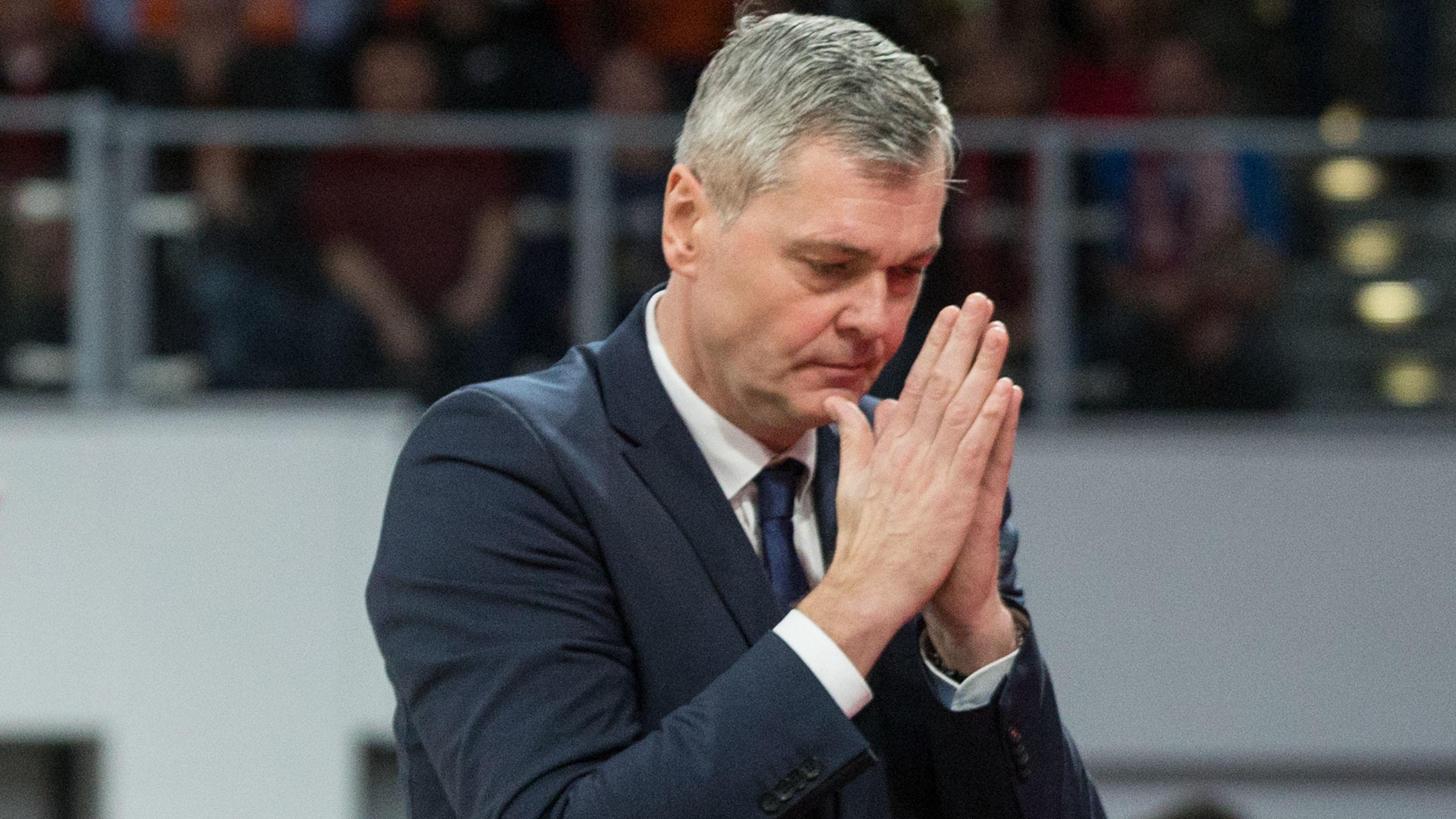 Der ehemalige Bamber-Trainer Ainars Bagatskis