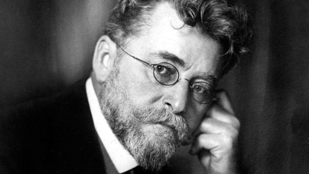 Fotographie von Ludwig Ganghofer aus dem Jahr 1910.