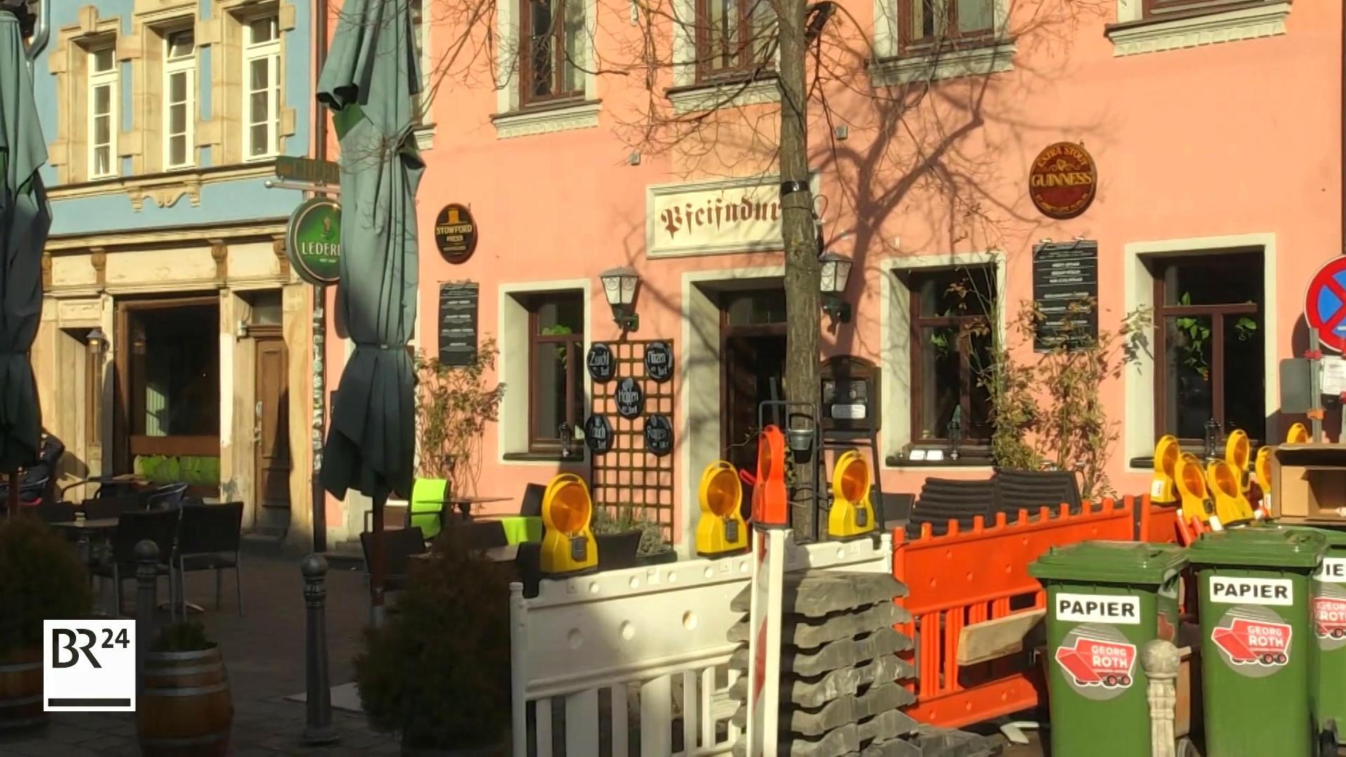 Gaststätte in der Fürther Gustavstraße