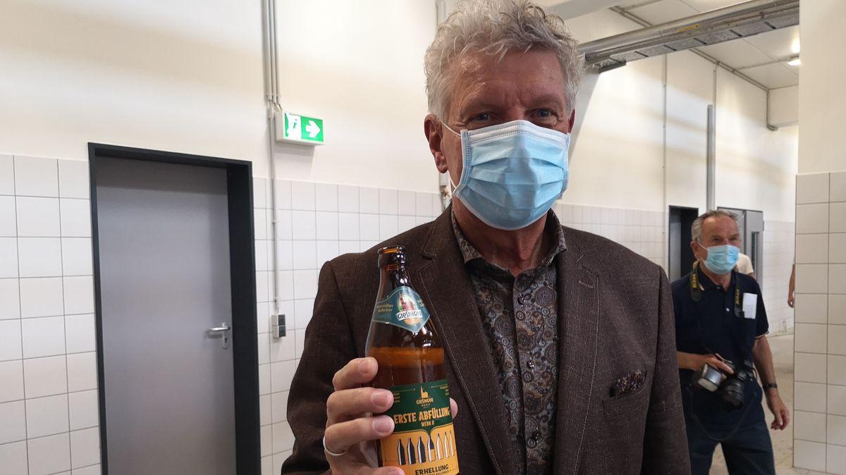 Oberbürgermeister Dieter Reiter freut sich über die neue Münchner Brauerei.