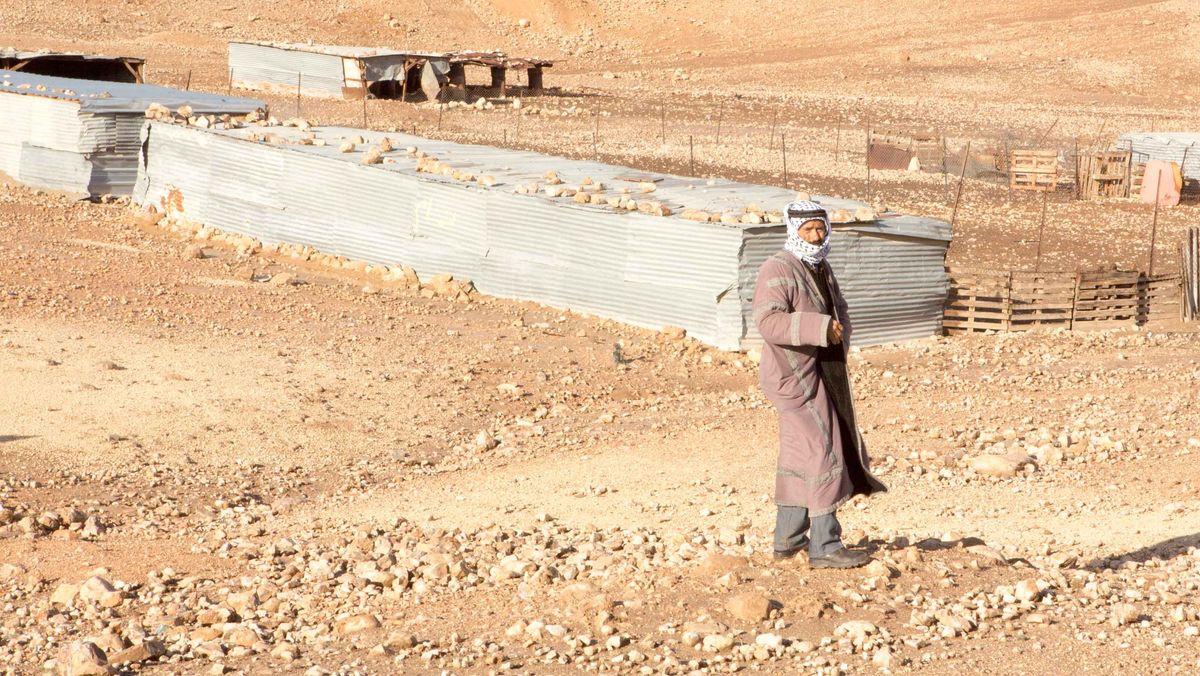 Das Oberhaupt der Gemeinde, Mhamed Mlihat al Kaabneh,