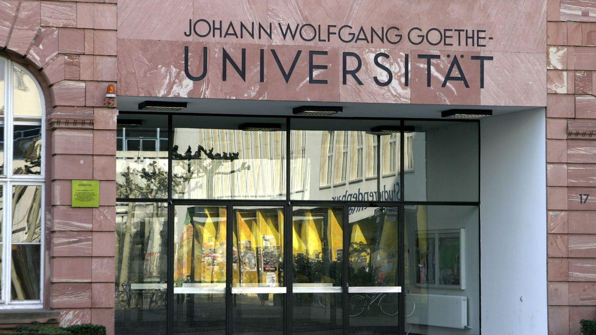 Glastüren der Johann-Wolfgang-Goethe-Unversität