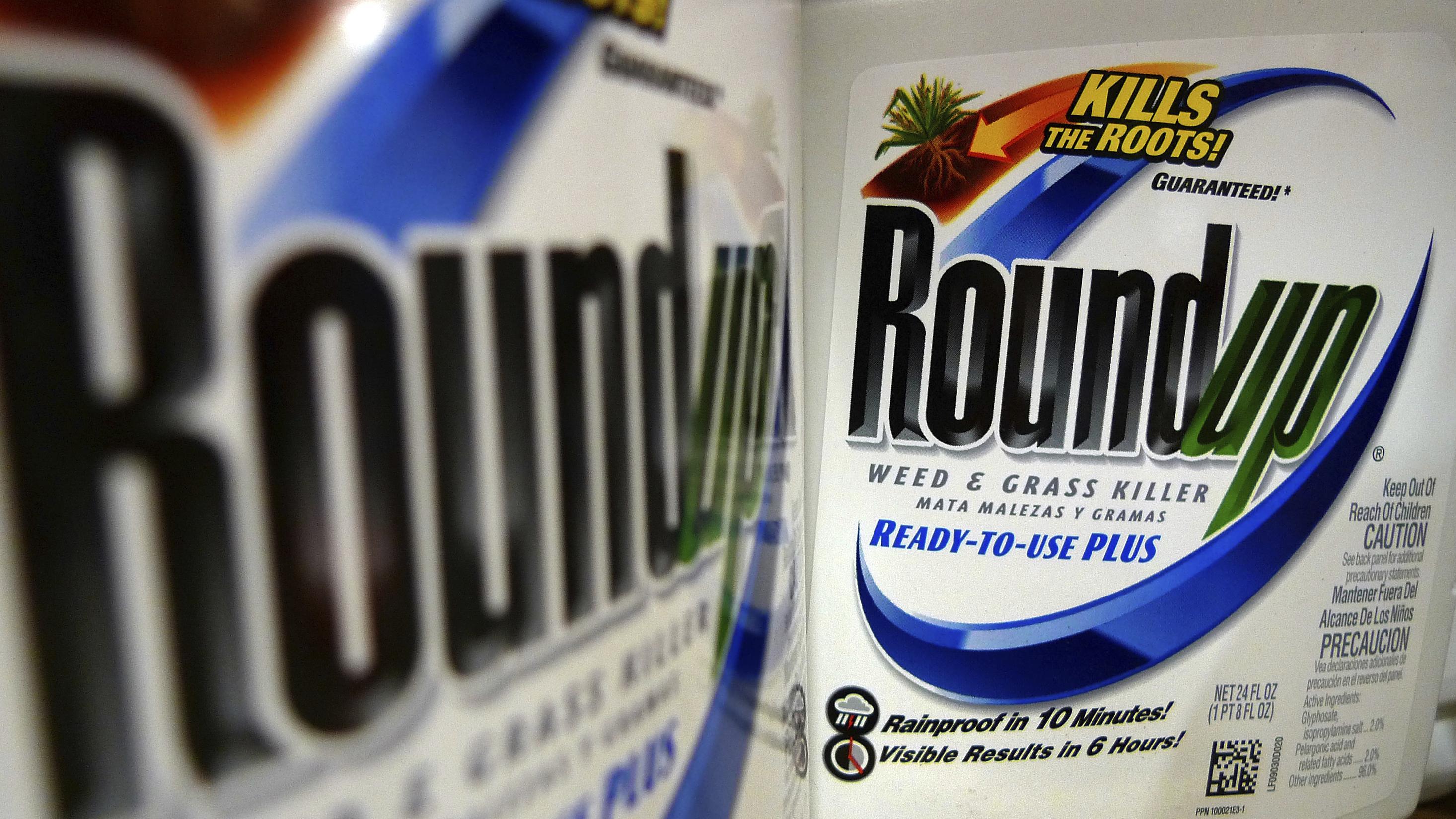 Von Monsanto vertriebenes Breitbandherbizid Roundup enthält Glyphosat