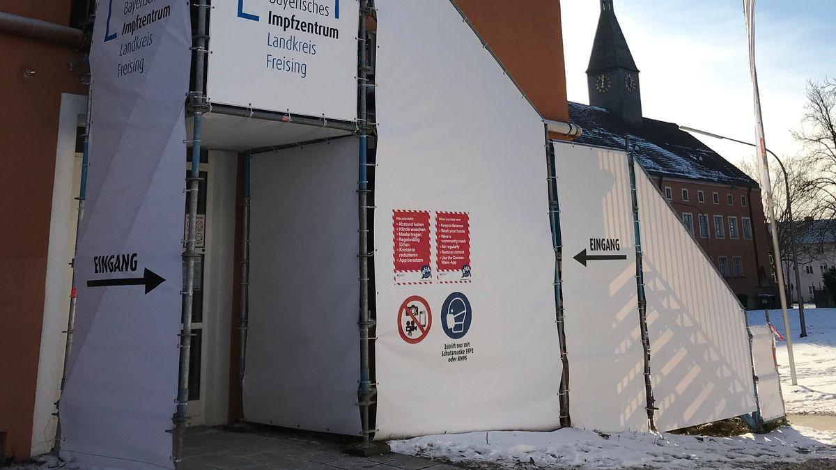 Impfzentrum Freising.