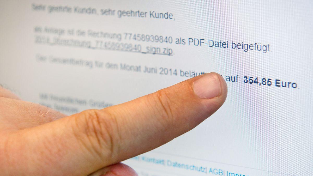 Symbolbild: Phising-Mail