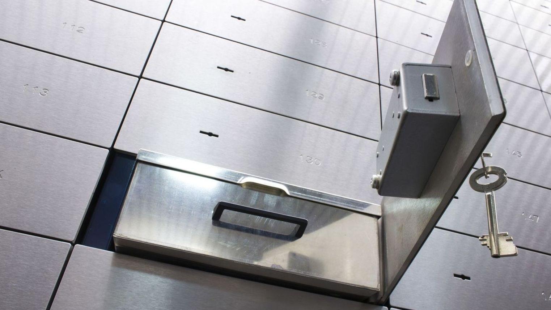 Offenes Bankschließfach (Symbolbild)
