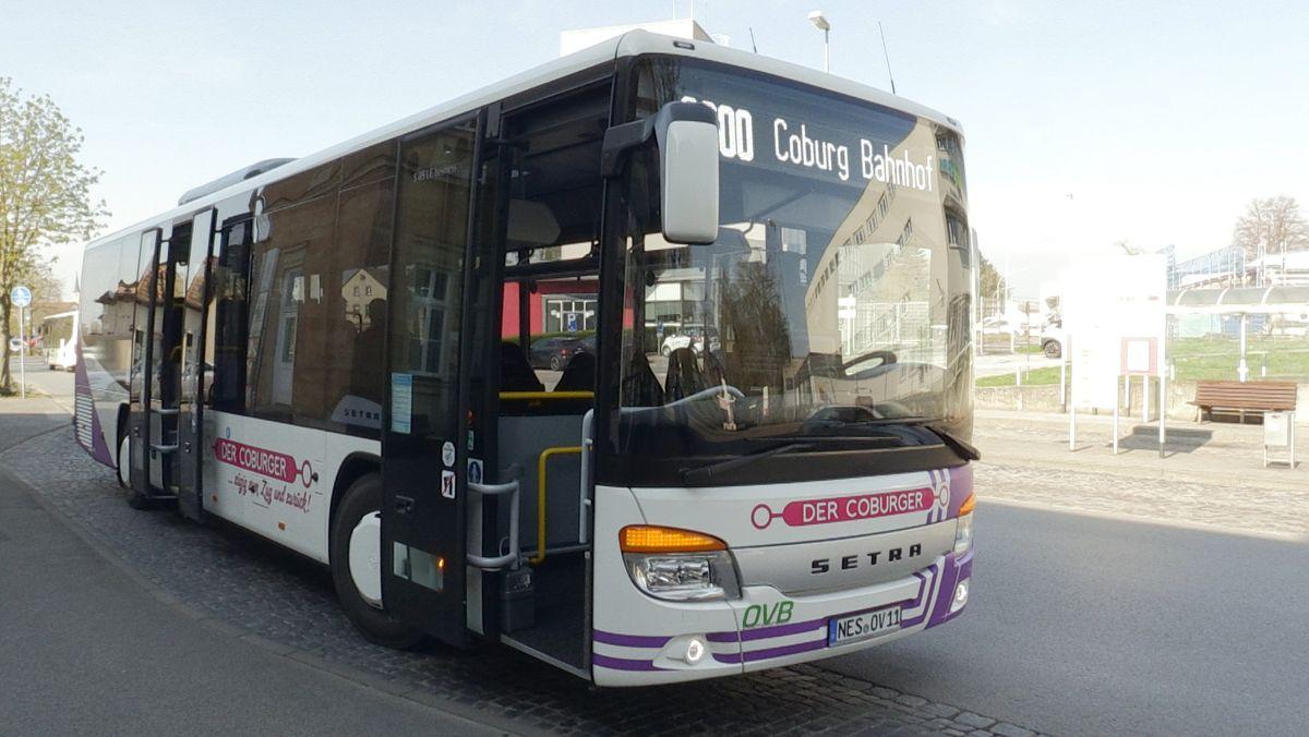 """Neue Buslinie """"Der Coburger"""""""