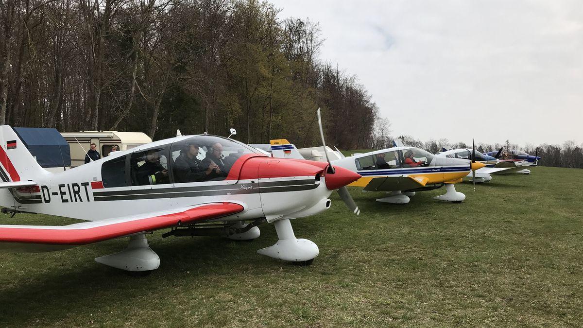 Flugzeuge der Luftrettungsstaffel