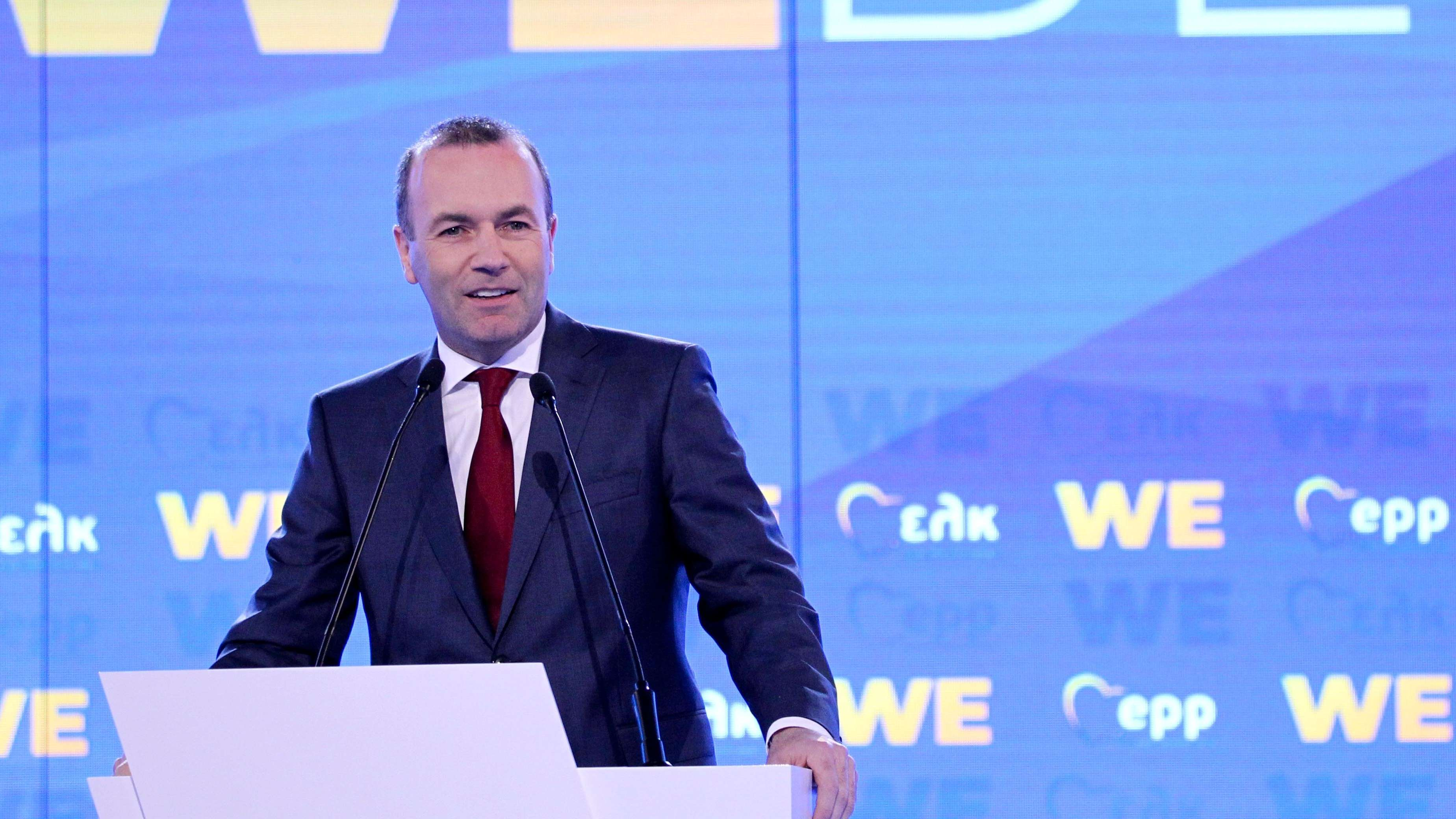 Manfred Weber in Athen