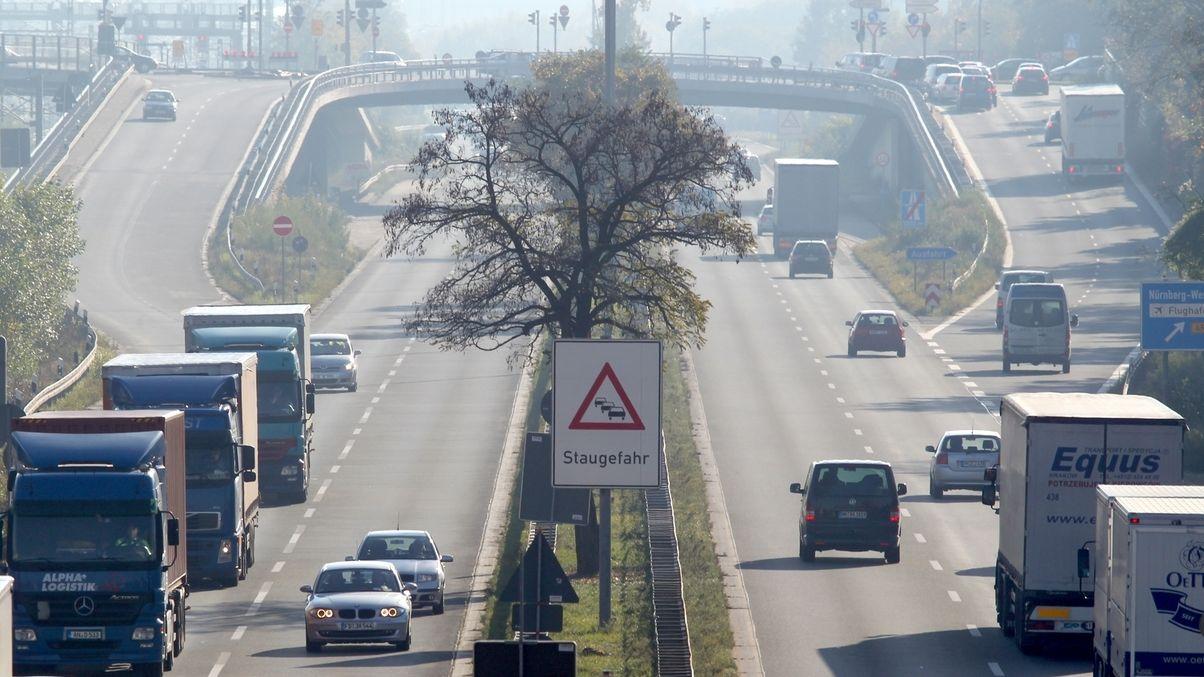 Frankenschnellweg Nürnberg