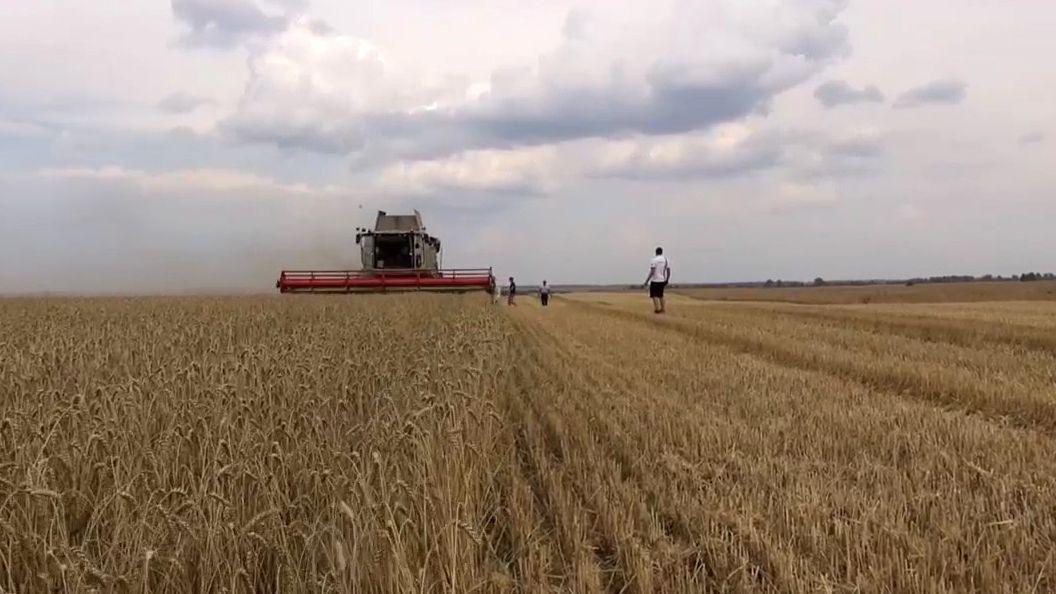 Oberfränkischer Landwirt in Russland