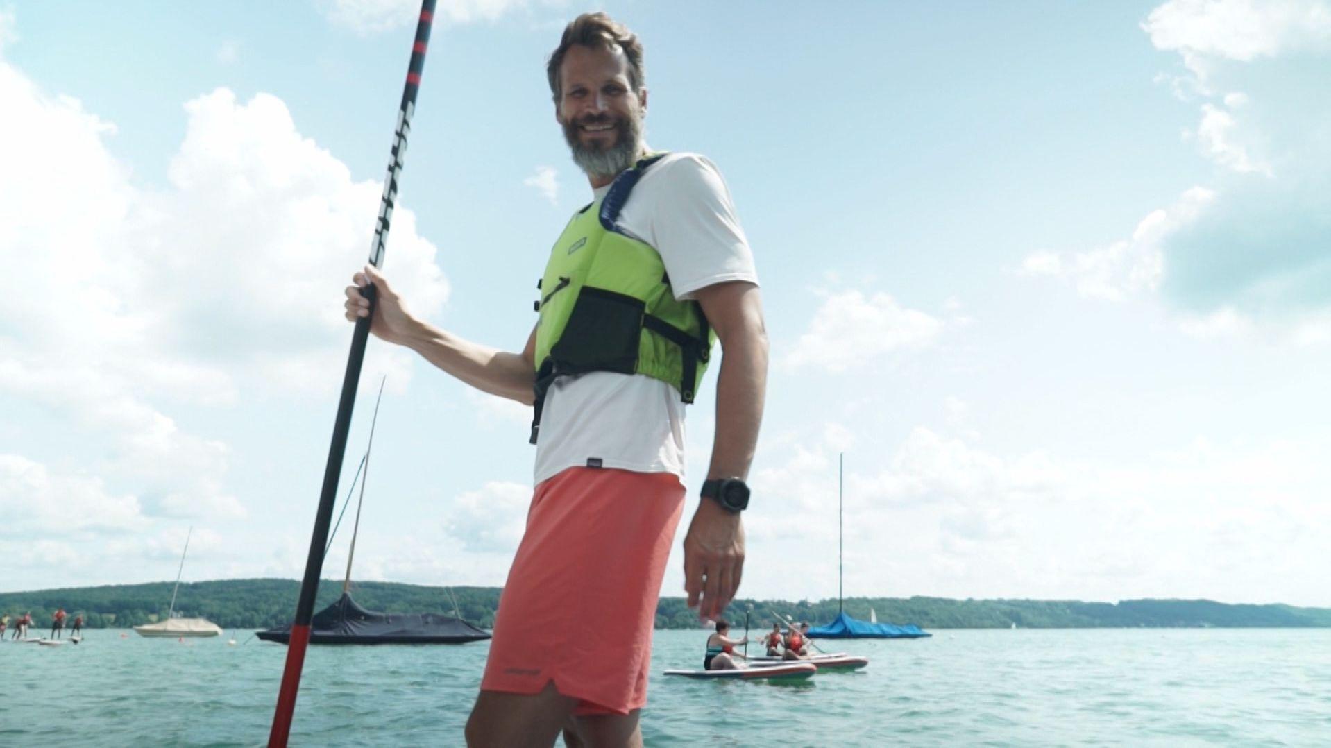 Pascal Rösler hat eine Mission: er will junge Leute für das kostbare Gut Wasser sensibilisieren.