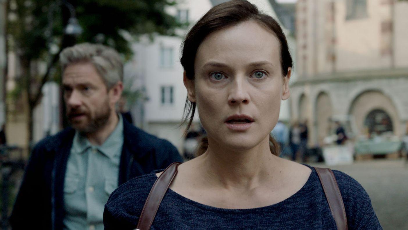 """Diane Kruger und Martin Freeman in """"Die Agentin"""""""