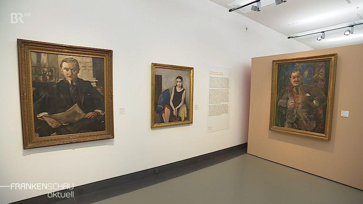 Bilder aus Gurlitt-Besitz im Kulturspeicher Würzburg