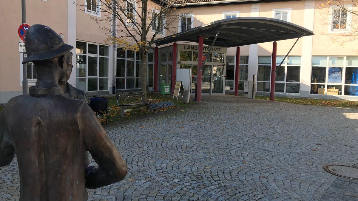 Das Landratsamt in Bad Tölz.