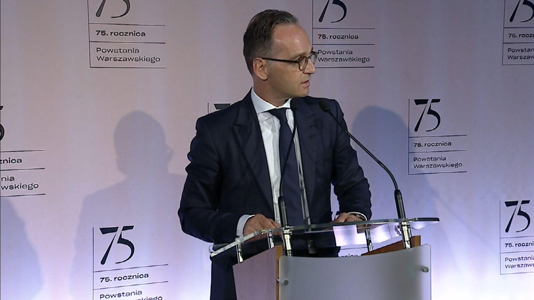Heiko Maas in Warschau
