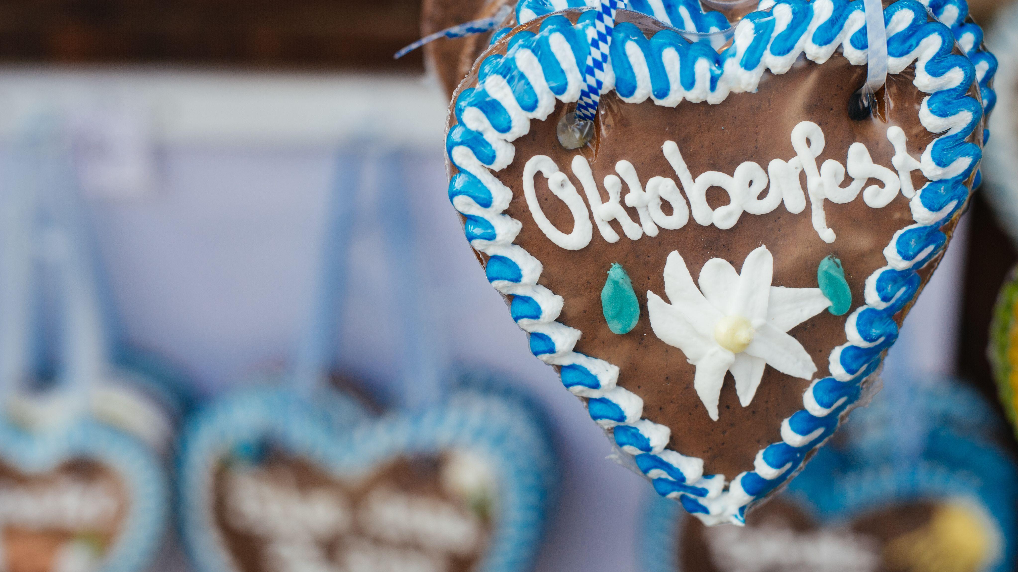 Oktoberfest - Lebkuchenherzen