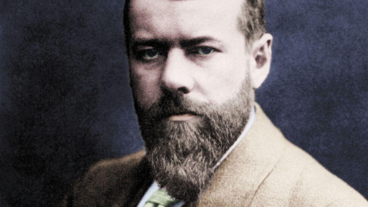 Historische Fotografie von Max Weber