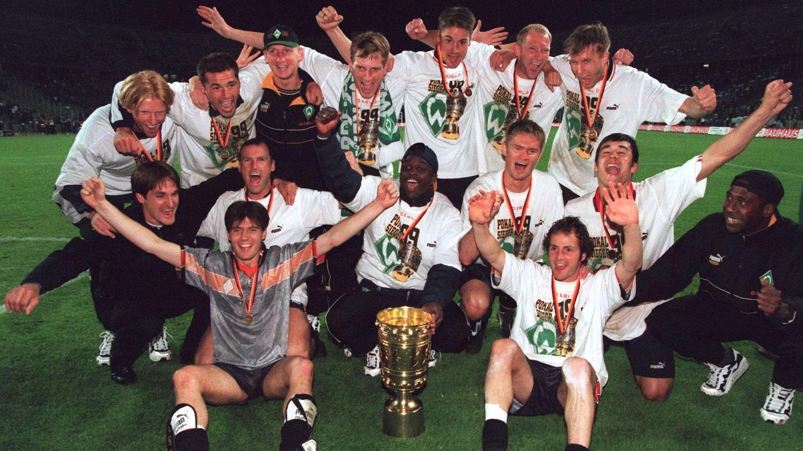 DFB-Pokalsieger 1999 Werder Bremen