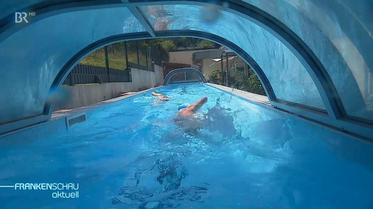 Eigenes Schwimmbad im Garten
