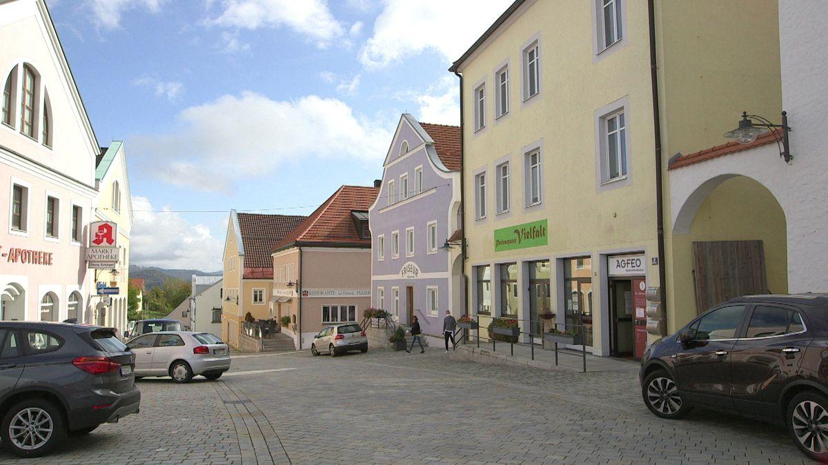 Markt Perlesreut im Bayerischen Wald