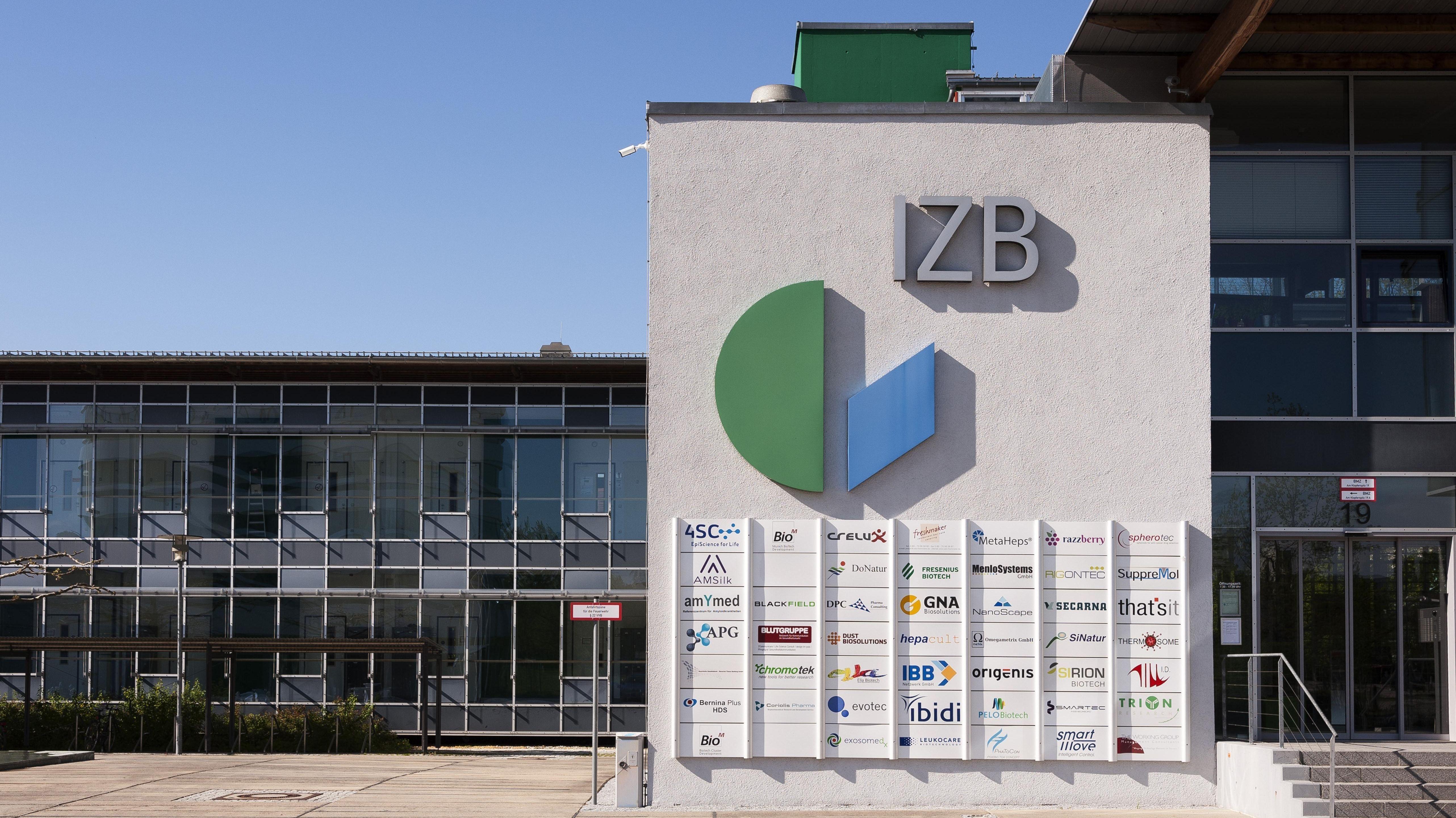 Innovations- und Gründerzentrum für Biotechnologie IZB, Martinsried bei München.