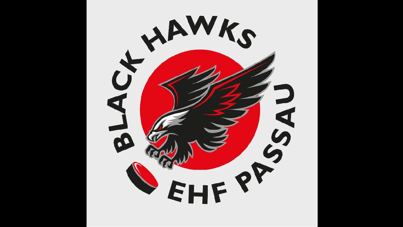 Das Logo des EHF Passau Black Hawks