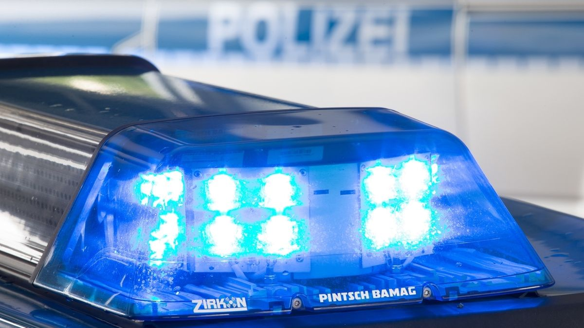 Blaulicht der Polizei (Symbolbild)