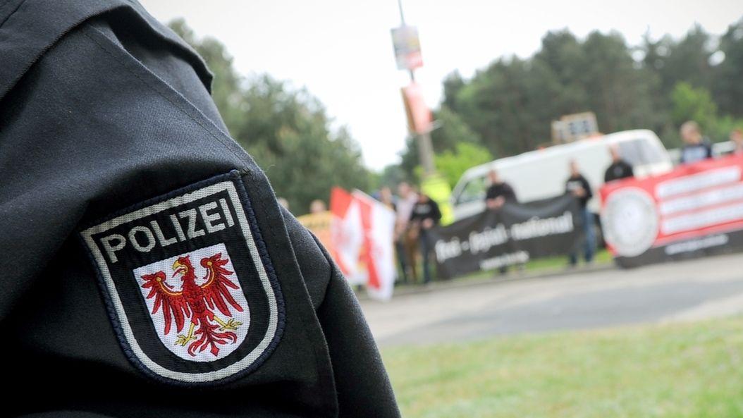 Symbolbild zu Rechtsextremismus bei der Polizei