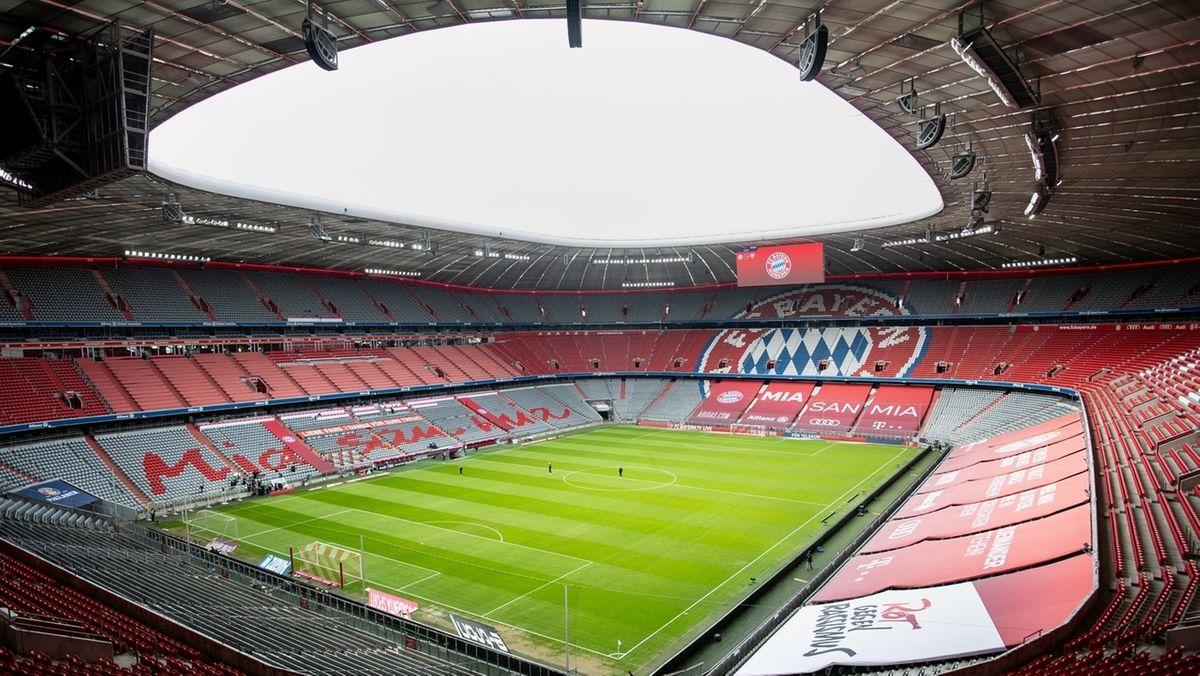 Blick in die Allianz Arena.