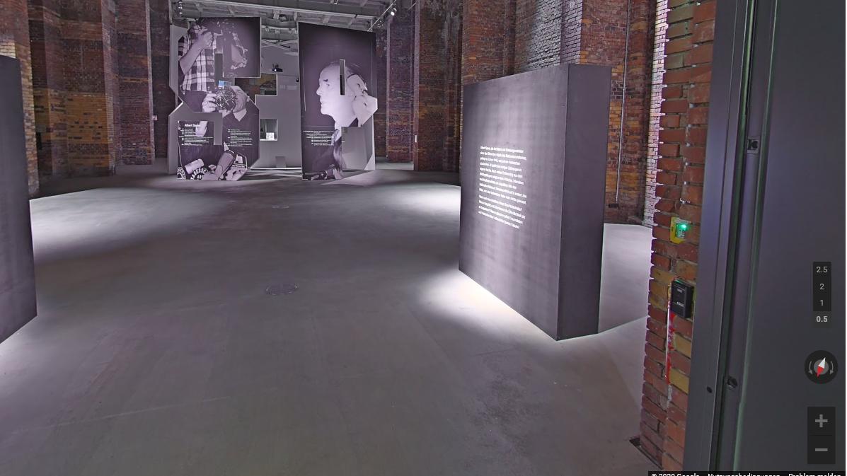 Virtueller 3D-Rundgang durch die Albert Speer-Ausstellung auf Google Art & Culture